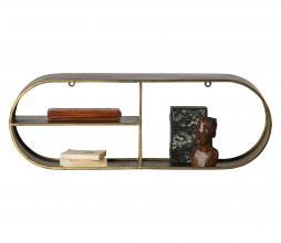 Afbeelding van product: BePureHome Eclips wandrek metaal antique brass