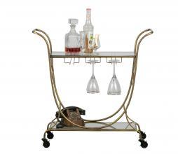 Afbeelding van product: BePureHome Decadent trolley metaal antique brass