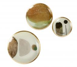 Afbeelding van product: WOOOD Exclusive Dini decobordjes glas multi