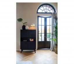 Afbeelding van product: Selected by Espita ladenkast 158x104x40 cm hout zwart