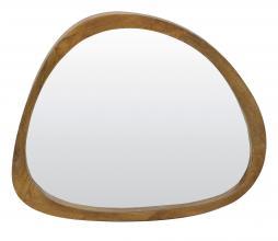 Afbeelding van product: Selected by Sonora spiegel 80x70x5 cm hout bruin