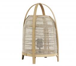 Afbeelding van product: Selected by Jacinto tafellamp div. afmetingen naturel hout H 42 x Ø27cm