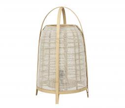 Afbeelding van product: Selected by Jacinto tafellamp div. afmetingen naturel hout H 60 x Ø34 cm