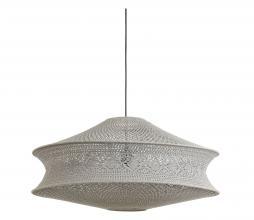 Afbeelding van product: Selected by Tarida hanglamp kap div. afmetingen donker taupe textiel H 42 x Ø80 cm