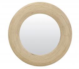 Afbeelding van product: Selected by Piedre spiegel Ø71 cm rotan naturel