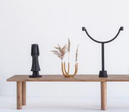 Afbeelding van product: Selected by Ahram kandelaar metaal zwart