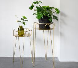 Afbeelding van product: Selected by Urban plantentafel metaal goud