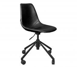 Afbeelding van product: Dutchbone Franky bureaustoel zwart