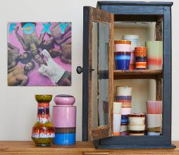 Afbeelding van product: HKliving 70's voorraadpot keramiek reef