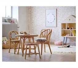Afbeelding van product: Selected by Hortense kinderstoeltje rotan naturel