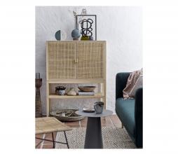 Afbeelding van product: Selected by Sanna opbergkast hout/rotan naturel