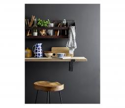 Afbeelding van product: Selected by Casper wandplank recycled hout bruin