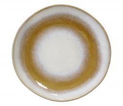 Afbeelding van product: HKliving 70's dessert bord Ø 17,5 cm set van 2 keramiek snow