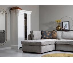 Afbeelding van product: WOOOD Isabel brocante kast 191x118x47 cm grenen wit