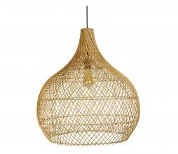Afbeelding van product: Selected by Ella lampenkap div. afmetingen rotan naturel S (38xø35cm)