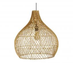 Afbeelding van product: Selected by Ella lampenkap div. afmetingen rotan naturel M (53xø50cm)