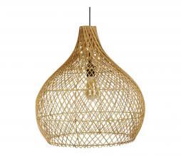 Afbeelding van product: Selected by Ella lampenkap div. afmetingen rotan naturel L (63xø60cm)