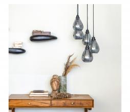Afbeelding van product: BePureHome Waterfall hanglamp glas zwart