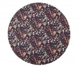 Afbeelding van product: BePureHome Aquarel flower vloerkleed ø200cm chestnut