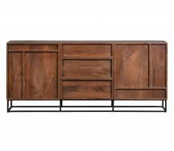 Afbeelding van product: WOOOD Exclusive Forrest 2-deurs dressoir met lades mangohout naturel