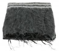Selected by Lauren plaid 230x115 cm katoen zwart