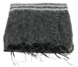 Afbeelding van product: Selected by Lauren plaid 230x115 cm katoen zwart