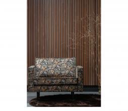 Afbeelding van product: BePureHome Rodeo 1,5 fauteuil velvet zwart bouquet