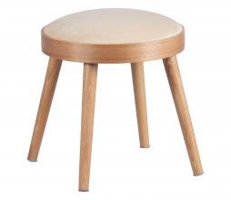 Afbeelding van product: WOOOD Laurie kruk hout naturel