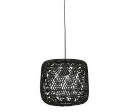 Afbeelding van product: WOOOD Exclusive Moza hanglamp Ø70 cm bamboe zwart