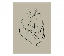 Afbeelding van product: WOOOD Exclusive Whatever poster div. afmetingen papier 40x50 cm