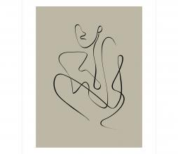 Afbeelding van product: WOOOD Exclusive Whatever poster div. afmetingen papier 50x70 cm
