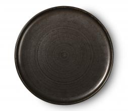 Afbeelding van product: HKliving Home chef dinerbord Ø26 cm porselein rustiek zwart