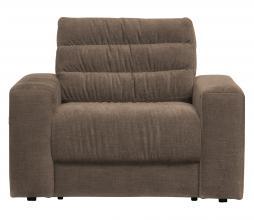 Afbeelding van product: BePureHome Date fauteuil vintage warm grijs