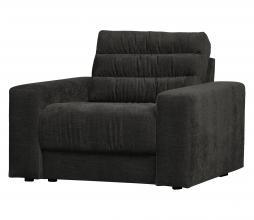 Afbeelding van product: BePureHome Date fauteuil vintage antraciet