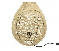 Selected by Rattan vloerlamp Ø35 cm rotan naturel