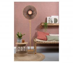 Afbeelding van product: Selected by Kalimantan staande vloerlampØ60 cm bamboe naturel/zwart