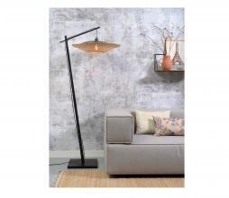 Afbeelding van product: Selected by Kalimantan hangende vloerlamp bamboe naturel/zwart