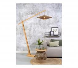 Afbeelding van product: Selected by Bali hangende vloerlamp bamboe naturel/zwart