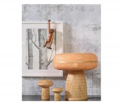 Afbeelding van product: Selected by Palawan tafellamp set van 3 bamboe naturel