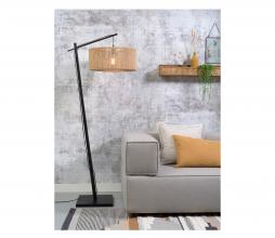 Afbeelding van product: Selected by Iguazu hangende vloerlamp bamboe/jute zwart/naturel