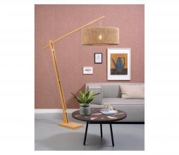 Afbeelding van product: Selected by Iguazu hangende vloerlamp bamboe/jute naturel