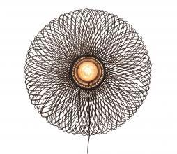 Afbeelding van product: Selected by Cango wandlamp eclipse bamboe zwart
