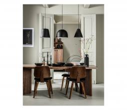 Afbeelding van product: vtwonen Classic eetkamerstoel walnoot zwart