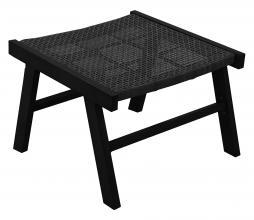 Afbeelding van product: WOOOD Puk hocker (binnen- buiten) aluminium zwart