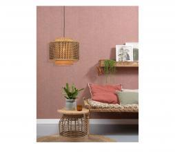 Afbeelding van product: Selected by Buhtan hanglamp div. afmetingen bamboe naturel/zwart S - H34 x Ø40 cm