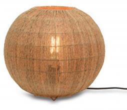 Afbeelding van product: Selected by Iguazu bol tafellamp div. afmetingen jute naturel L - H36x Ø32cm