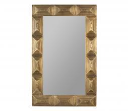 Afbeelding van product: Dutchbone Volan spiegel hout antique brass