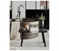 Afbeelding van product: Housedoctor Nadi bank/sidetable hout zwart