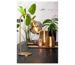 Afbeelding van product: Selected by Rakel tafellamp glas/metaal brons/smoke