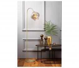 Afbeelding van product: Selected by Rakel vloerlamp glas/metaal brons/smoke